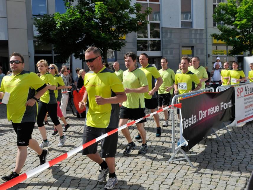 Benefizlauf Halberstadt Start Läufer Strecke Stefan Bernschein