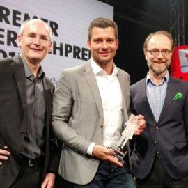 MDR-Team erhält den Bremer Fernsehpreis