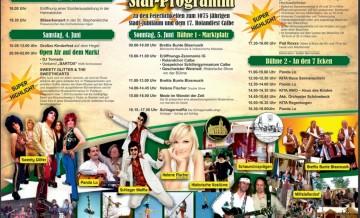 Stadtfest Calbe