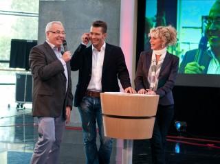 """Das Team von """"Unterwegs in Sachsen-Anhalt"""": Andreas Neugeboren & Victoria Herrmann"""