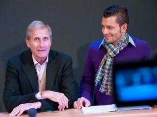 Fachhochschule: Ulrich Wickert trainiert Studenten