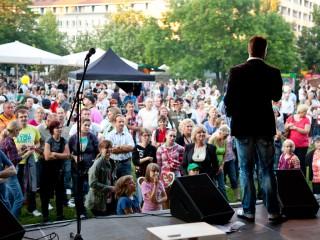 Stefan Bernschein moderiert Sachsen-Anhalt-Tag 2012 in Dessau
