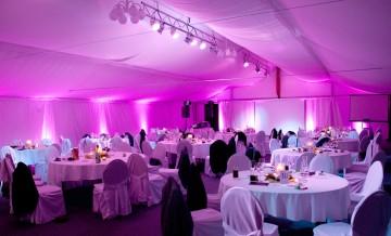 Jetzt neu: LED-Ambiente-Beleuchtung für Ihre Veranstaltung