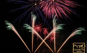 Großes Feuerwerk in Berlin