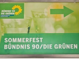 Sommerfest Bündnis90/DIE GRÜNEN