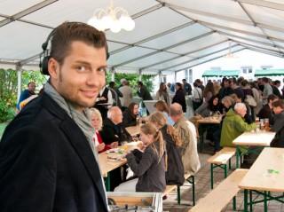Stefan Bernschein auf dem Sommerfest von BÜNDNIS 90/DIE GRÜNEN