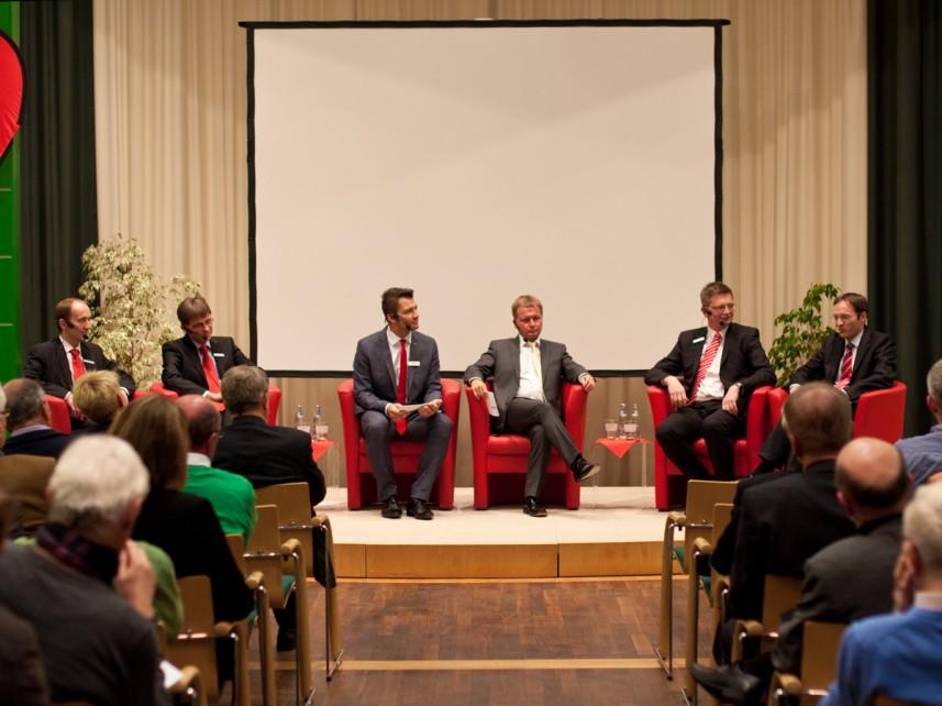 Stefan Bernschein in Talkrunde Perspektive Publikum