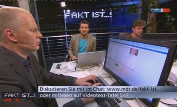 """MDR """"Fakt ist…!"""" – Rente mit 63"""