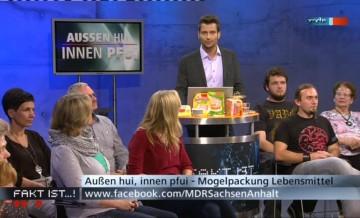 MDR Fakt ist…! Lebensmittel: Mogelpackung & Verbrauchertäuschung