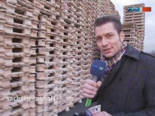 MDR-Reporter Stefan Bernschein in Uchtspringe