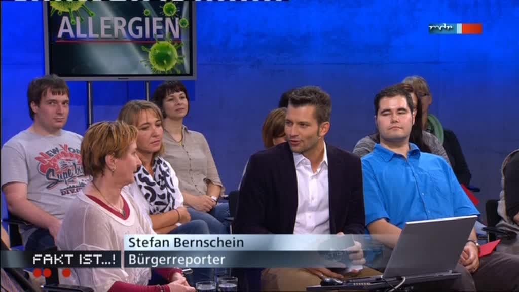 Fakt ist...! aus Magdeburg: Bürgerreporter Stefan Bernschein mit Gesprächsgast