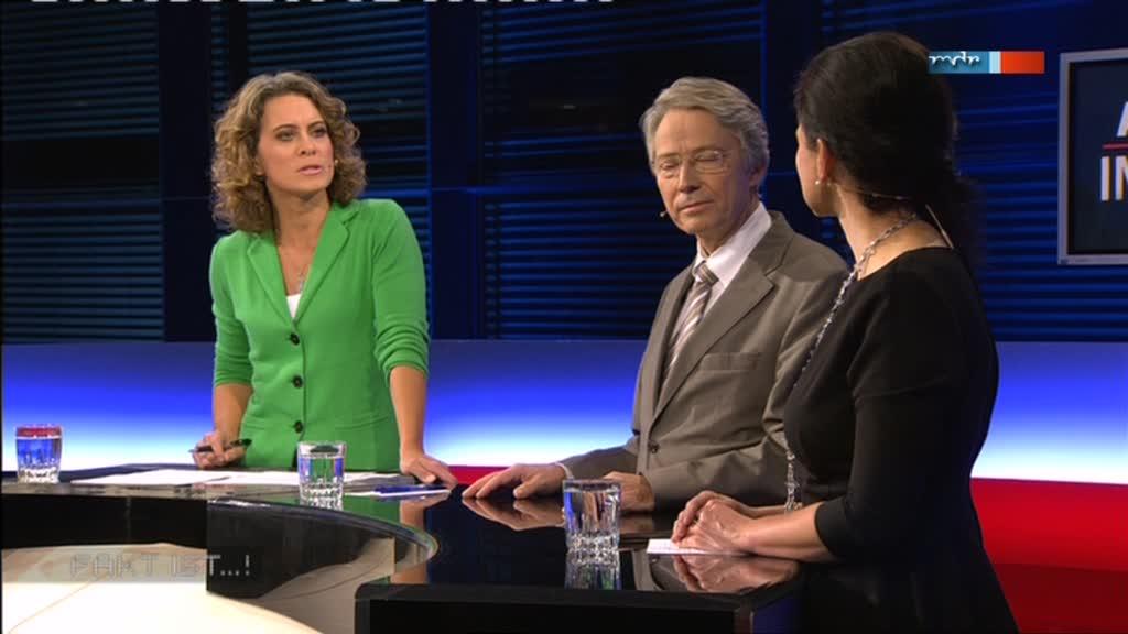 MDR Fakt ist...! aus Magdeburg: Anja Heyde mit Gästen