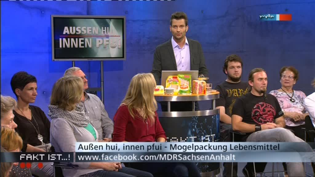 MDR Fakt ist...! aus Magdeburg: Bürgerreporter Stefan Bernschein mit Publikum