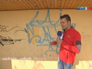Reporter Stefan Bernschein vor seiner Tagesaufgabe